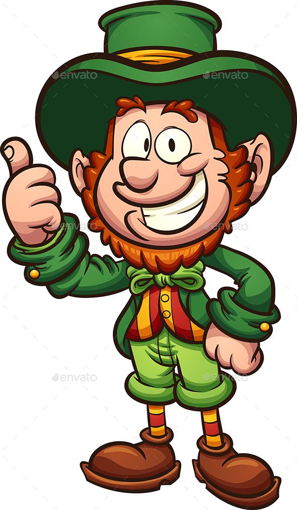 Happy cartoon leprechaun by memoangeles graphicriver happy cartoon leprechaun miscellaneous seasonsholidays thecheapjerseys Images