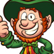 Happy Cartoon Leprechaun - GraphicRiver Item for Sale