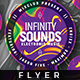 Infinity Sound - Flyer Template - GraphicRiver Item for Sale