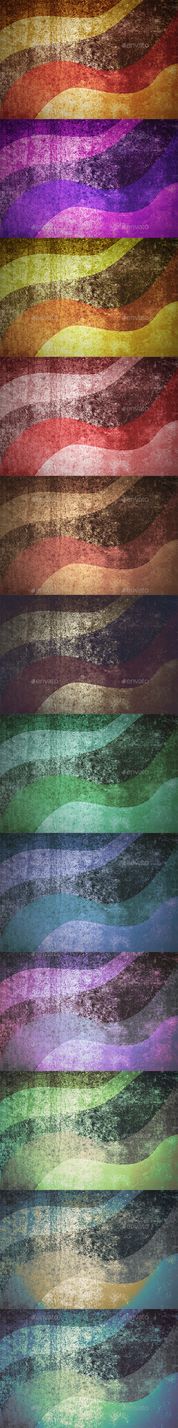 Grunge Texture Colorful Backgrounds - Abstract Backgrounds