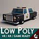 Low-Poly Cartoon Police Car - 3DOcean Item for Sale