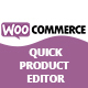 WooCommerce Quick Product Editor
