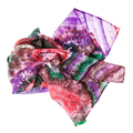 crumpled pink batik headscarf isolated - PhotoDune Item for Sale