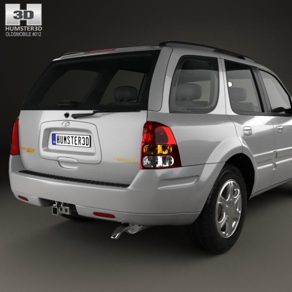 Oldsmobile Bravada 2002 By Humster3d 3docean
