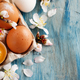 Сhicken eggs and almond flowers - PhotoDune Item for Sale