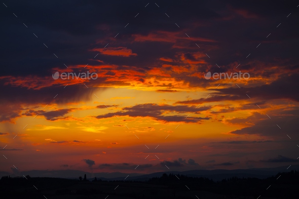 Beautiful sky background. - Stock Photo - Images
