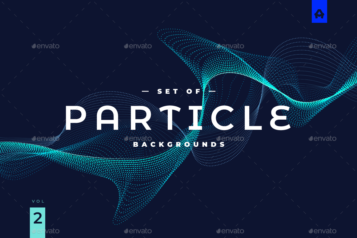 Particle Background vol 2