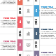 Abstract Vertical Timeline Infographics - GraphicRiver Item for Sale