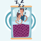 Couple Sleeping - GraphicRiver Item for Sale