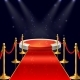 Vector Podium with Red Carpet - GraphicRiver Item for Sale