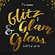 Glitz, Glam & Glass Gold Text Effects - GraphicRiver Item for Sale