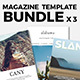 Magazine Template Bundle 04 - GraphicRiver Item for Sale
