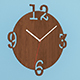 Wall wooden clock - 3DOcean Item for Sale