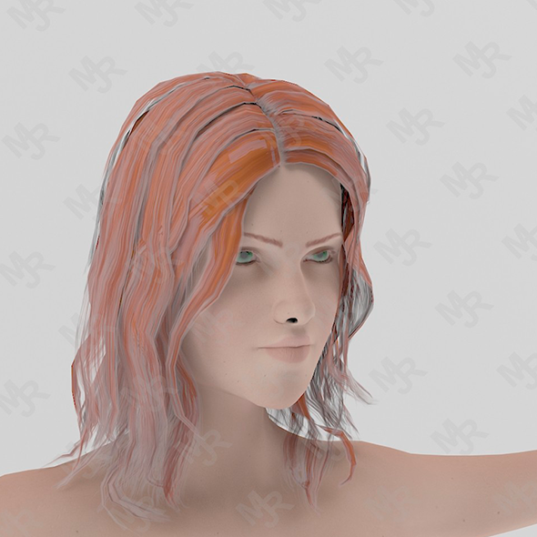 Naked Girl1 Animations Pack - 3DOcean Item for Sale