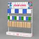 Display Stand Conveyor Belt