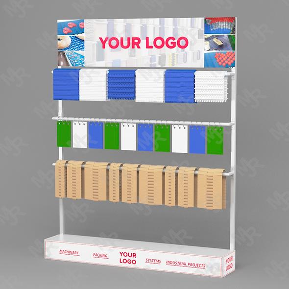 Display Stand Conveyor Belt - 3DOcean Item for Sale
