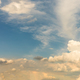 Fantastic panoramic white clouds against blue sky - PhotoDune Item for Sale