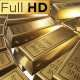 Fine Gold Bars Rotation  - VideoHive Item for Sale
