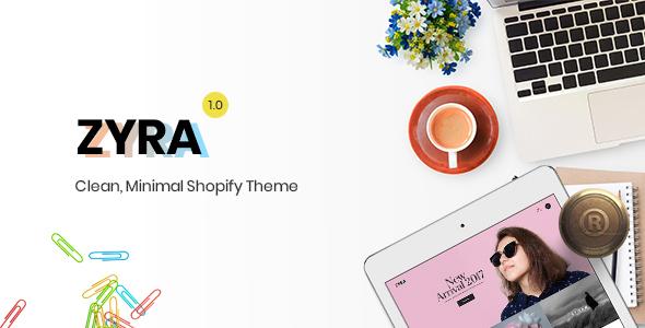 Zyra - The Clean, Minimal Shopify Theme