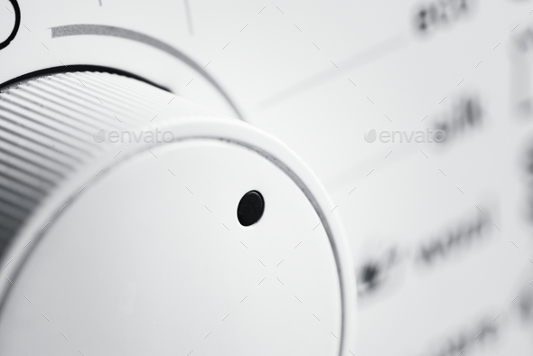 Closeup of clothes dryer - Stock Photo - Images