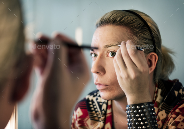 Russian drag queen - Stock Photo - Images