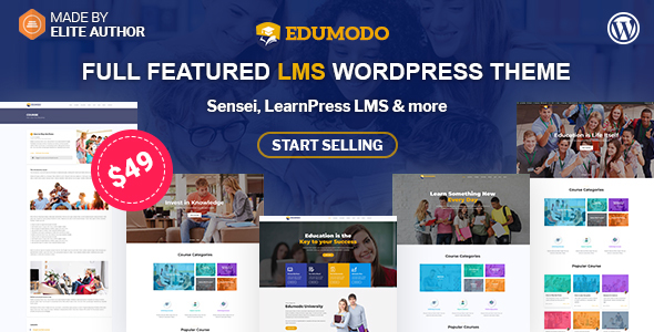 Edumodo - All-In-One LMS & Education Theme For WordPress