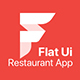 Restaurant Flat User Interface Pack - GraphicRiver Item for Sale