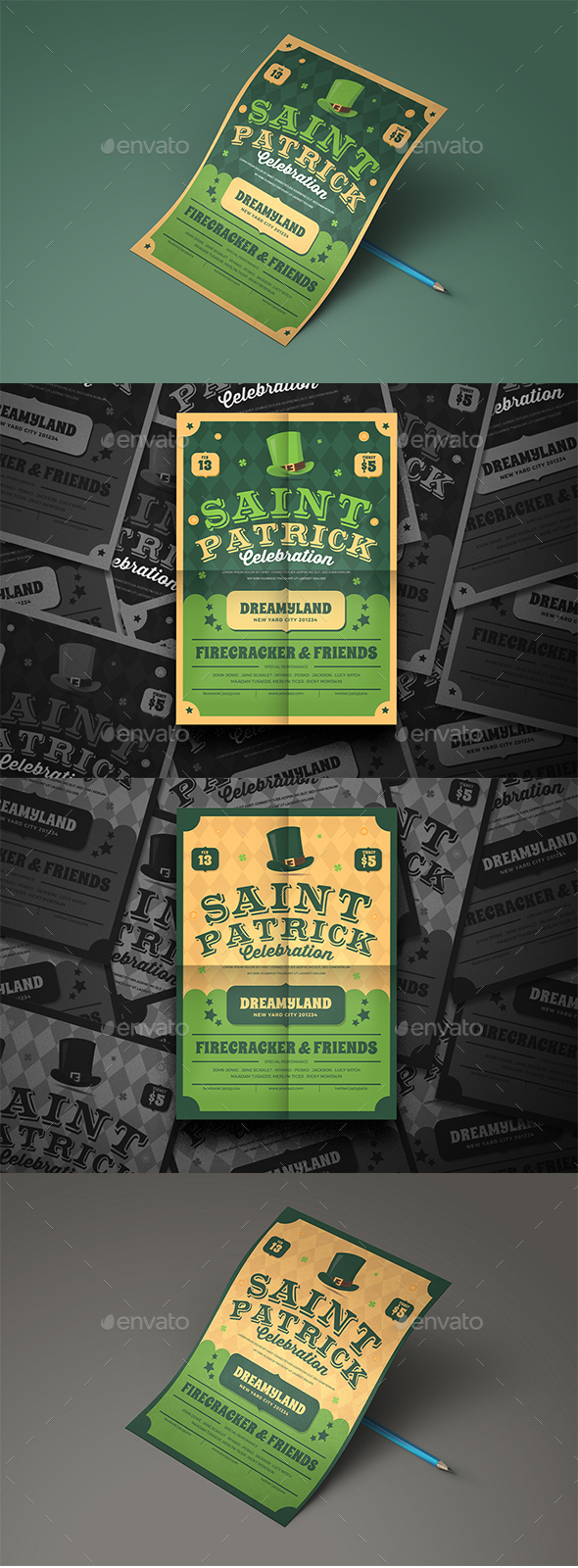St. Patrick Flyer - Events Flyers