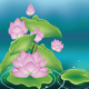 Lotus Flower with Leaves - GraphicRiver Item for Sale
