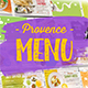 Provence Menu - VideoHive Item for Sale