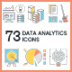 Data Analytics Icons - GraphicRiver Item for Sale