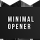 Minimal Opener - Simple Promo - VideoHive Item for Sale