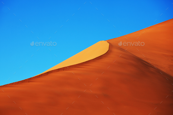 Sand desert - Stock Photo - Images
