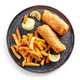 plate of Fish and Chips - PhotoDune Item for Sale
