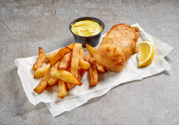 Fish and Chips - Stock Photo - Images