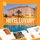 Hotel Luxury - Google Slide Presentation Template - GraphicRiver Item for Sale