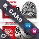 Technical Data Business Card Templates