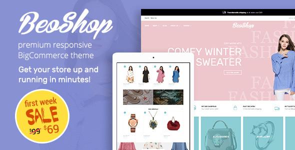 BeoShop – Responsive  BigCommerce Theme