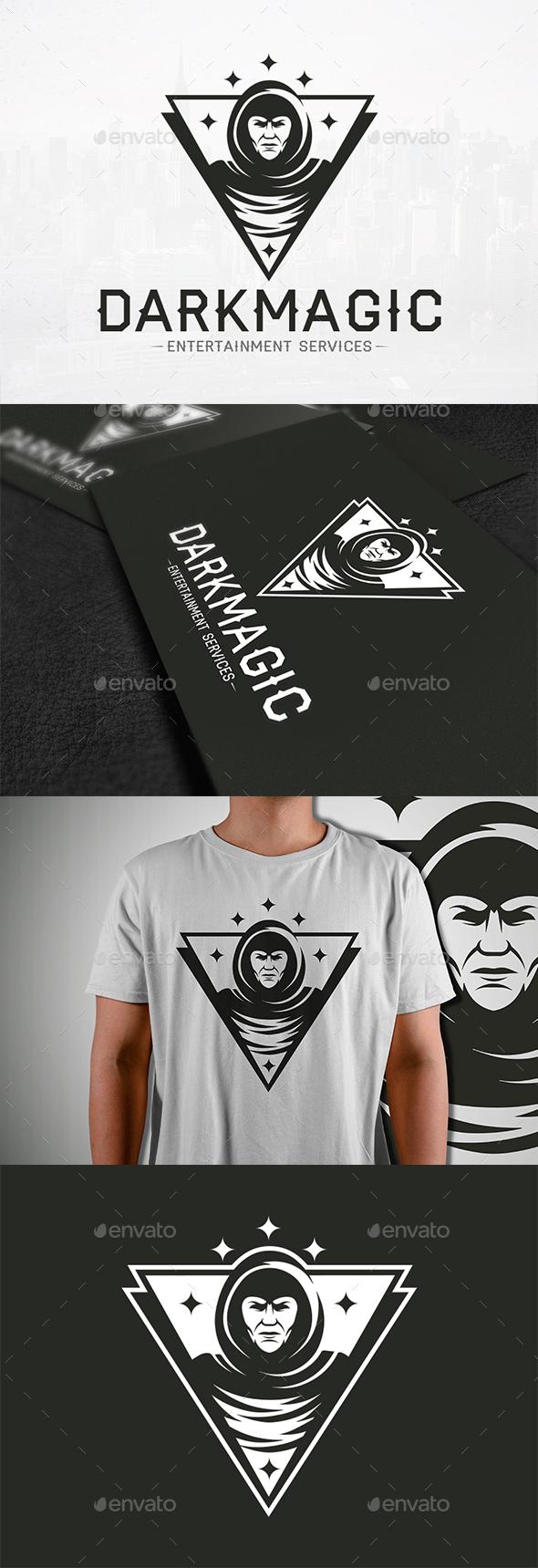 Dark Magic Logo Template - Humans Logo Templates