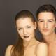 beautiful couple in studio portrait - PhotoDune Item for Sale