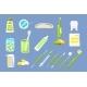 Dentist Tools Sett, Dental Care Equipment, Teeth