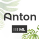 Anton - Multi Store Responsive HTML Template - ThemeForest Item for Sale