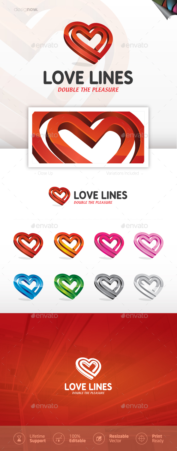 Heart And Love Logo - Symbols Logo Templates