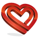 Heart And Love Logo