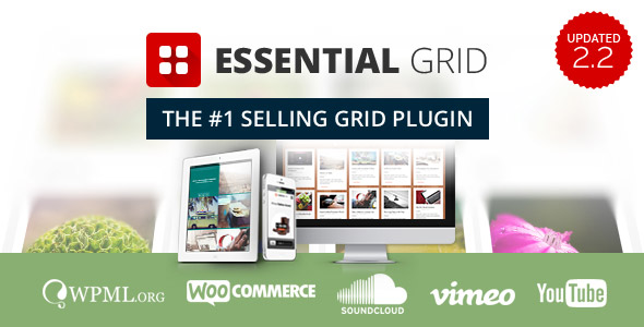 Essential Grid Gallery WordPress Plugin - CodeCanyon Item for Sale