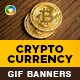 Crypto Currency Animated GIF Banner Set - GraphicRiver Item for Sale