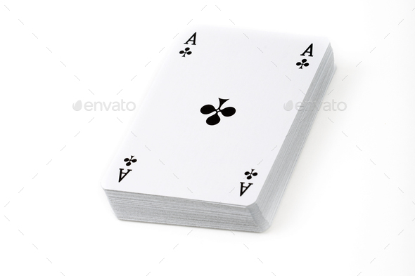 Deck of playing cards  - Stock Photo - Images