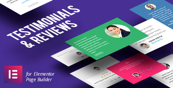 Testimonial & Reviews for Elementor Page Builder - CodeCanyon Item for Sale