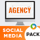 Agency Social Media Pack - GraphicRiver Item for Sale