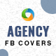 Agency Facebook Covers - 3 Colors - GraphicRiver Item for Sale
